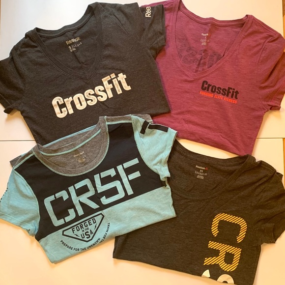 Reebok Crossfit bundle 4 t-shirts
